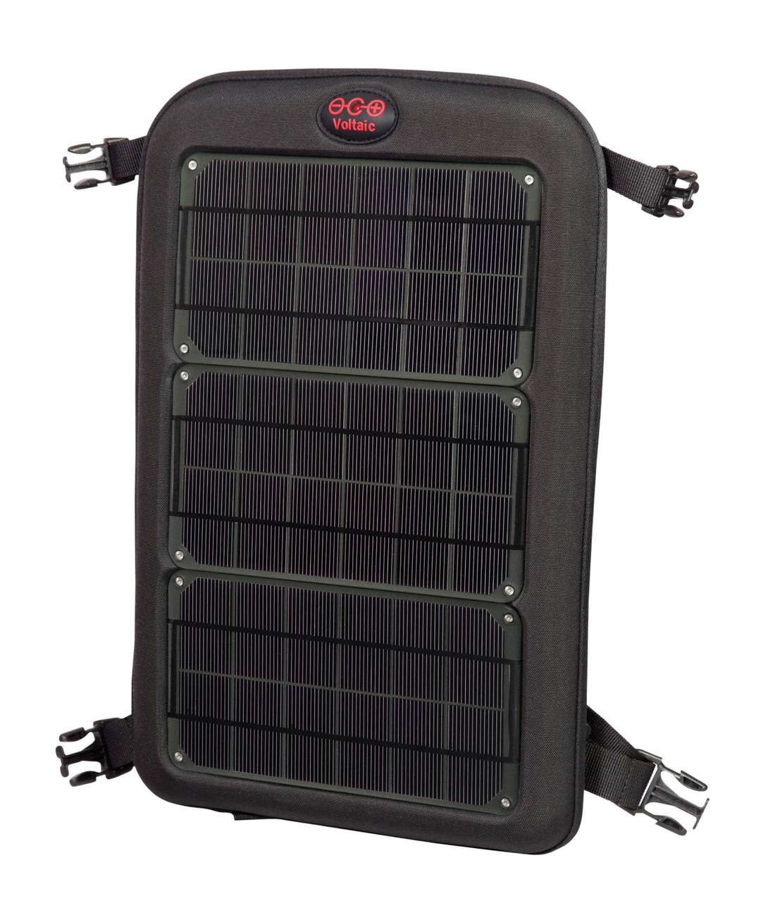 Picture of Voltaic portable solar panel for bicycle touring and bike travel