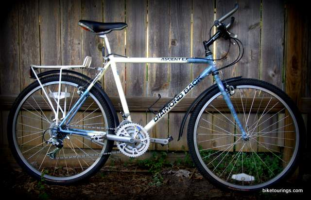 Picture of 1989 Diamond Back Ascent EX for bicycle touring and commuting