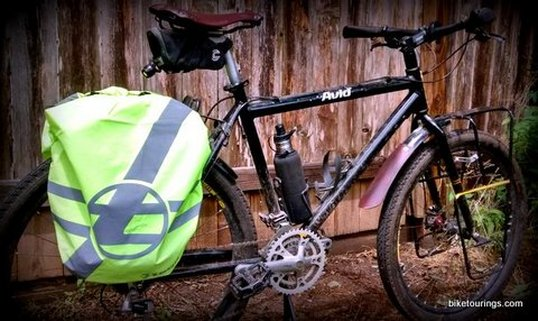 Picture of Waterproof Pannier Rain Covers for bike commuting