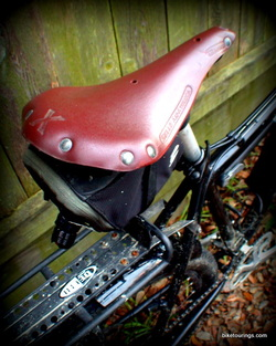 Picture of Selle Anatomica NSX bike saddle after one year