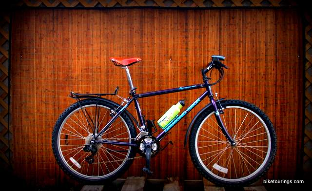 Picture of Diamond Back mountain bike for bicycle touring and commuting