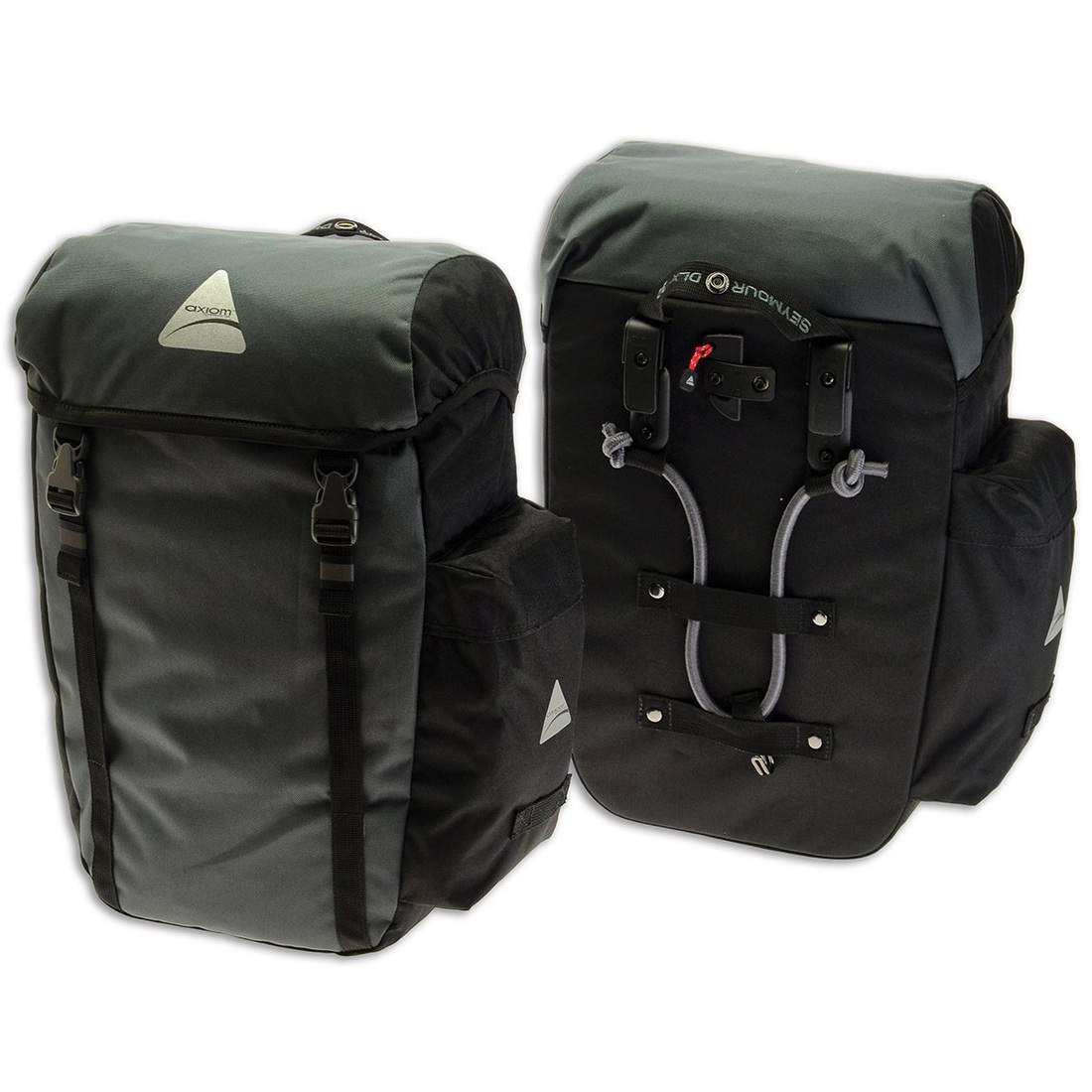 Picture of Axiom Seymour DLX 20 Panniers for bike touring and commuting