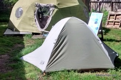 Picture of Mountain Hardwear Drifter 3 Tent for bike touring and camping
