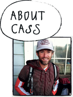 Picture of Cass of While out riding bicycle touring blog