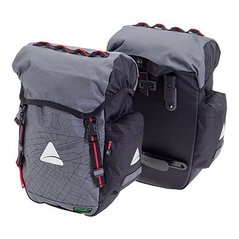 Picture of Axiom O Weave Seymour waterproof panniers for bicycle touring and bike commuting