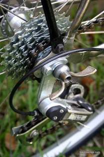 Picture of seven speed free wheel on Puch Bergmeister.