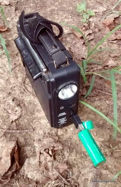 Picture of C Crane Solar Observer Radio recharging Magnus Innovations bike light battery