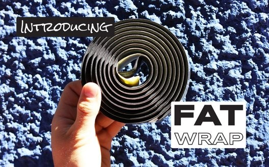 Picture of Fat Wrap handlebar tape for bike touring from TASIS Bikes