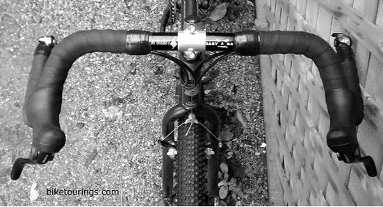 ORIGIN8 DROP ENDS BLACK BICYCLE HANDLEBAR BAR ENDS