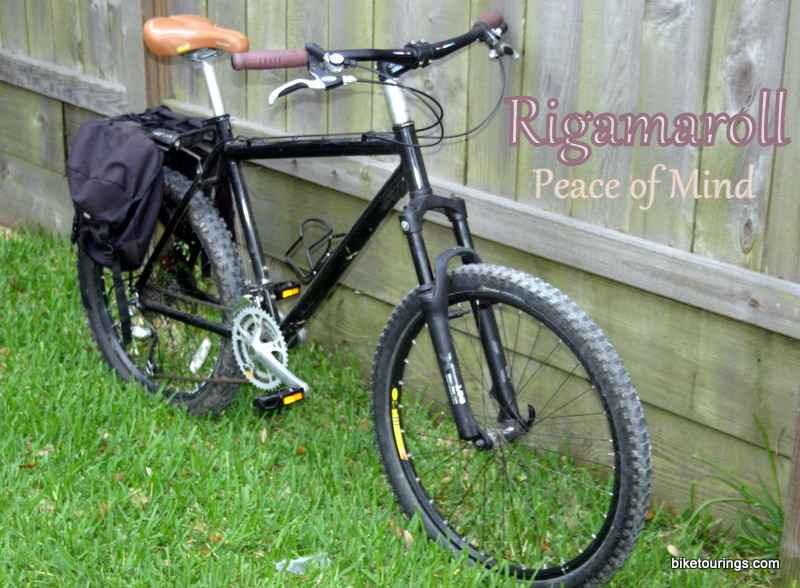 Picture of expedition touring mountain bike dubbed the Rigamaroll
