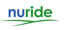 Picture of nuride logo for bicycle commuting rewards points