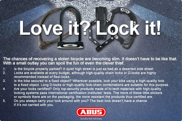 Picture of Abus bike locks