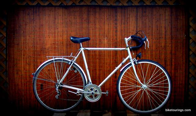 Picture of Vintage Motobecane Prestige for bicycle touring and commuting