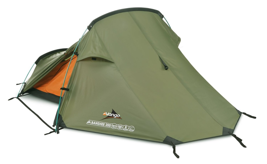 Picture Vango Banshee 200 Two Person Tent For Bike Touring And Camping