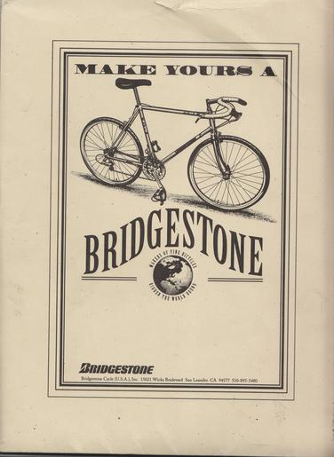 Picture of Bridgestone Bicycle Catalogue
