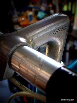 Picture of Nitto Stem and Handlebars on Razesa road bike