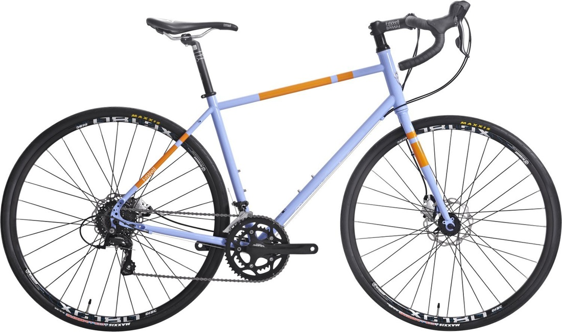 Picture of Fitwell Bicycle Company Fahrlander Placid Blue touring bike