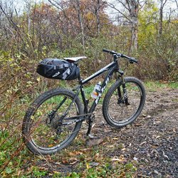Picture of Seat Pack Bag for Bike Packing tour and camping
