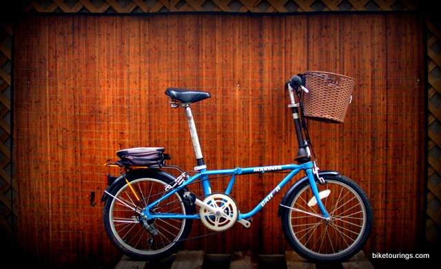Picture of Dahon Mariner folding bike for bicycle travel and commuting