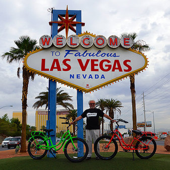 Picture of Pedego Henderson bike shop owner at Las Vegas offers bike rentals and bicycle tours