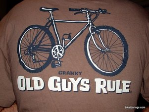Picture of Cranky Old Guys Rule t shirt