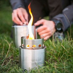 Picture of Solo Stove for bike touring
