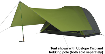 Picture of Kelty Upslope Tarp for bicycle touring and bike packing