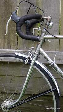 Picture of vintage Puch Bergmeister.