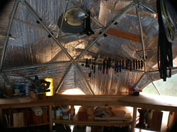 Picture of Bike Tourings geodesic dome workshop