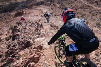 Picture of mountain biking at Bootleg Canyon, Boulder City, NV