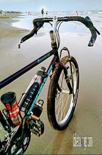 Picture of Mountain Bike for Touring beach cruising with proper tires