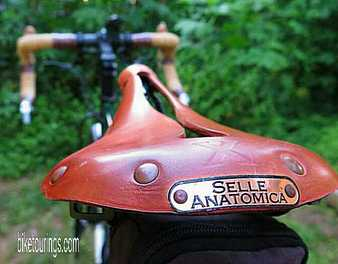 Picture of Selle Anatomica Saddles for bike touring, commuting and bikepacking